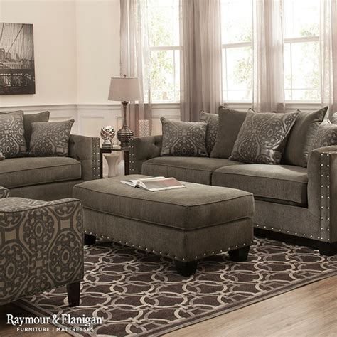 raymour and flanigan living room furniture calista microfiber collection living room other metro