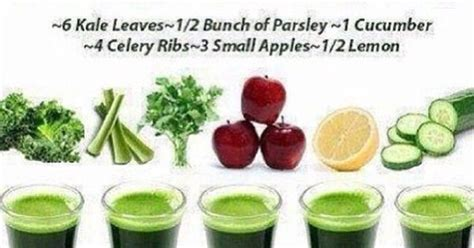 Liver Detox Drink Cucumber Lemon Parsley by Liver Cleanse Juice Recipe 6 Kale Leaves Bunch Of