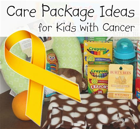 putting the c in cancer care compassion books care package ideas for with cancer takethemameal