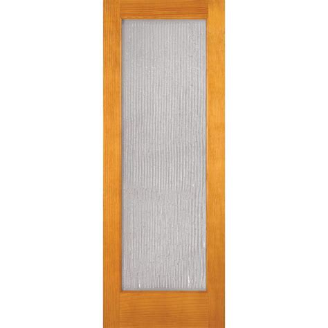 feather river doors 30 in x 80 in privacy smooth 1 lite feather river doors 30 in x 80 in 1 lite unfinished pine