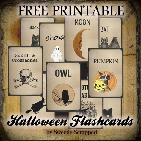 halloween flashcards printable 17 best images about halloween labels and halloween label
