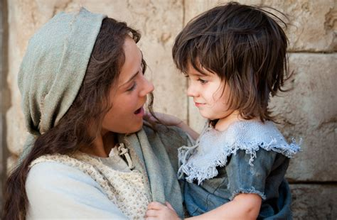 biography about mary the mother of jesus mary and young jesus