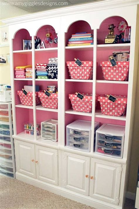 pink craft room craft room ideas decorating organizing the home
