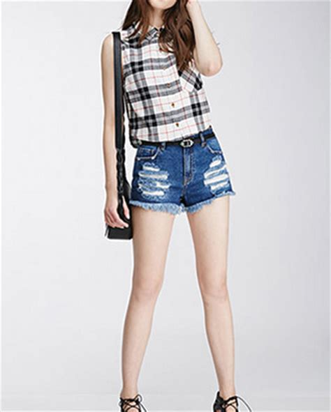 Promo Fashion White Flanel white black checks sleeveless flannel shirts for wholesale