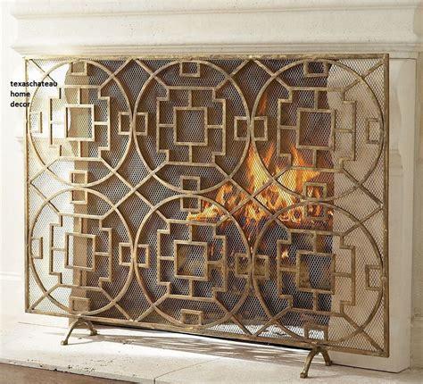 modern fireplace screen dutchglow org