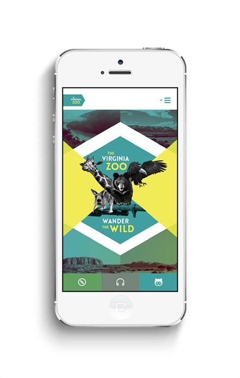 app design on behance virginia zoo app design on behance