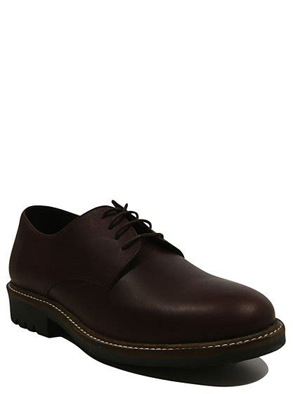 leather derby shoes george at asda