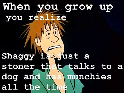 shaggy joke when you grow up the meta picture