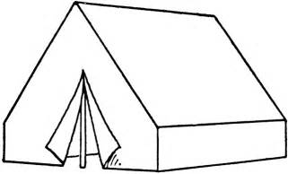 Tent Coloring Pages Sheets Free  sketch template