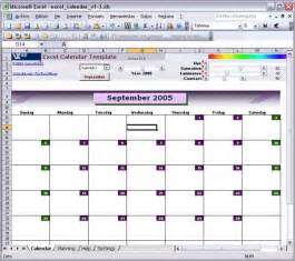 excel template calendar excel calendar template