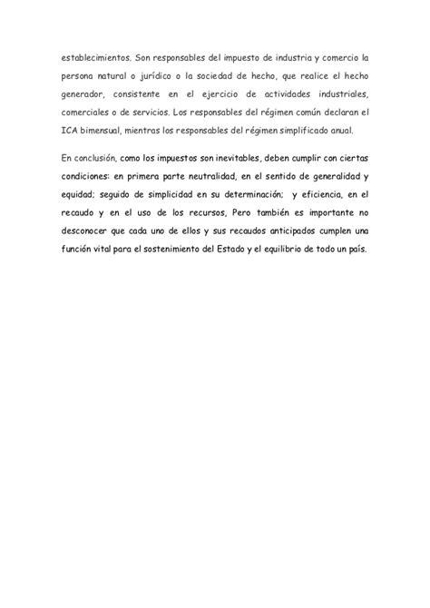 conclusion de impuestos estatales y municipales ensayos y ensayo impuestos