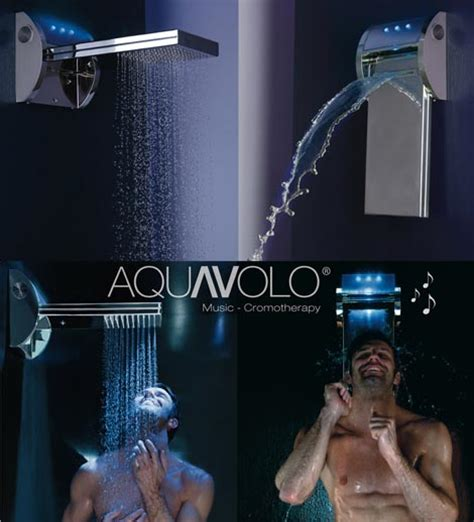 Shower With Speaker by Mp3 Shower By Bossini Ipod Shower With Speakers Light