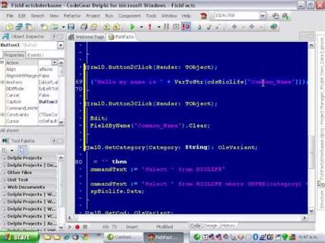 c tutorial for delphi programmers delphi programming tutorial 53 field access youtube