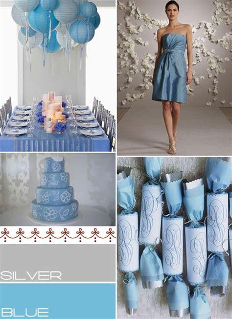 blue silver wedding colours palette baby blue silver wedding colours blauwe wedding blue