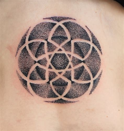 dotted tattoos celtic dot pointillisum tattoo tattoos by mareva lambough