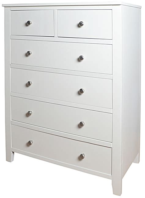 White Drawers by White Bedroom Furniture White Chest Of Drawers