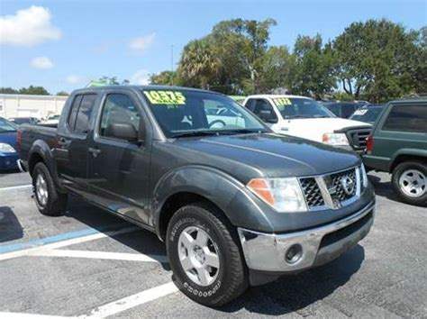 nissan frontier for sale in florida 2007 nissan frontier for sale florida carsforsale