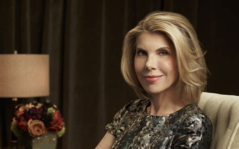 christine baranski on moving forward after loss