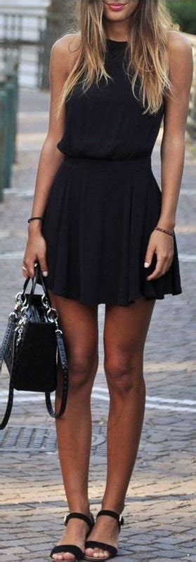 casual   stunning  black dresses