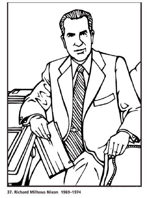 U S Presidents Coloring Pages Download And Print U S Us Presidents Coloring Pages