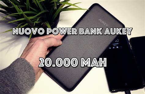 Powerbank Robot 20 000 Mah nuovo powerbank aukey da 20 000 mah pi 249 sottile e pi 249