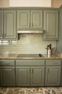 Kitchen Cabinet Glaze Colors Best 20 Green Kitchen Cabinets Ideas On