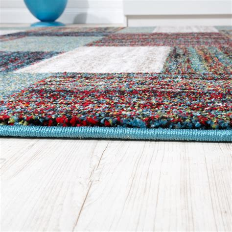 rug specials carpet modern living room special mottled chequered pattern grey green carpets