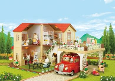 Sylvanian Family Maple Manor With Carport by Sylvanian Families Maple Manor With Carport Sylvanian