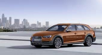 2016 audi a4 allroad rendered quattro competitor for