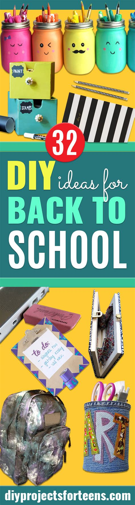 diy projects for high school 32 diy ideas for back to school supplies diy projects