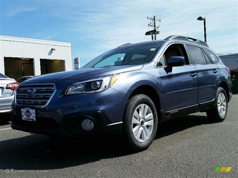 blue subaru outback 2016 twilight blue metallic subaru outback 2 5i premium