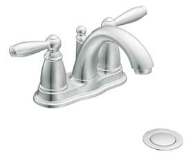 brantford kitchen faucet moen 6610 brantford two handle low arc bathroom faucet with drain assembly chrome touch on