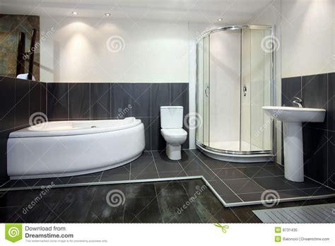 Schwarzes Badezimmer by Schwarzes Badezimmer Lizenzfreies Stockfoto Bild 8731435