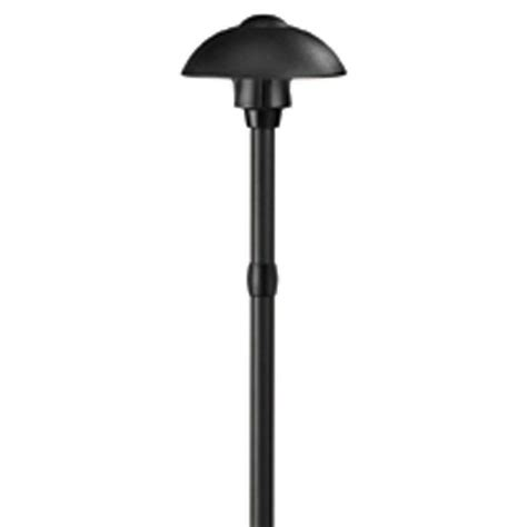 low voltage aged brass outdoor halogen path light hton bay low voltage black square integrated led