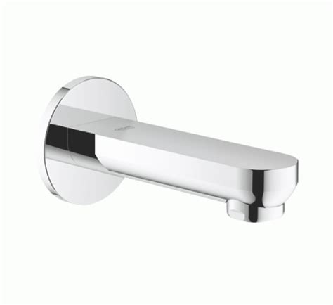 grohe bathtubs grohe eurosmart cosmopolitan bath spout wall mounted