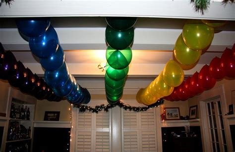 Easy Last Minute Decor Balloon Ceiling by Pin Ceiling Decoration Balloon Decorationsbirthday