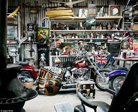Home Interiors Figurines photographer captures australian man caves daily mail online