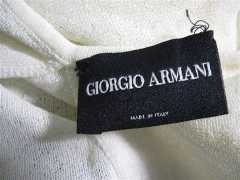 Labels For Armani how to spot a armani jackets