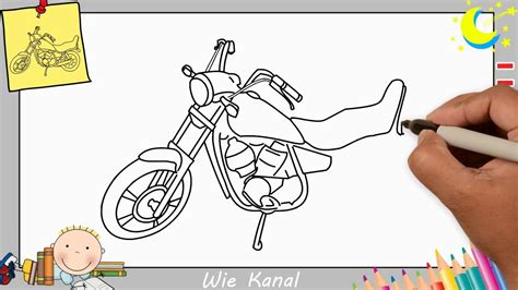 Motorrad Lernen by Motorrad Zeichnen Lernen Einfach Aktualisieren F 252 R
