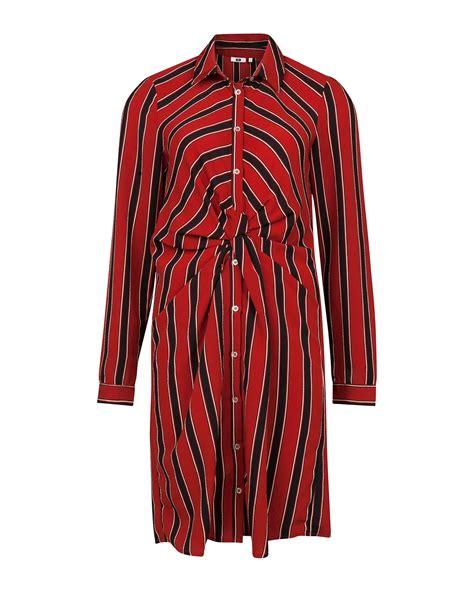 Twis Stripe stripe twist jurk 81355389 we fashion