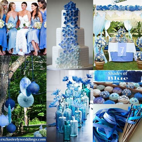 1000 images about shades of blue wedding theme on wedding wedding colors