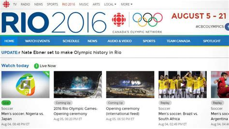 Sling Tv Gift Card Online - how to watch 2016 olympics with online streaming tech pep
