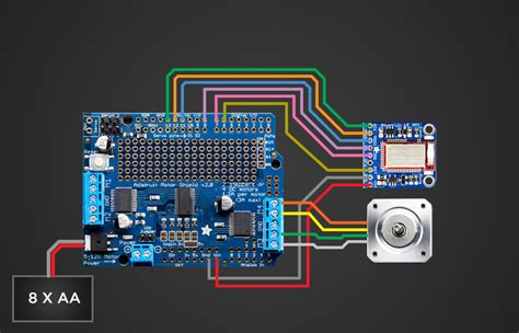arduino motor shield diagram arduino free engine image
