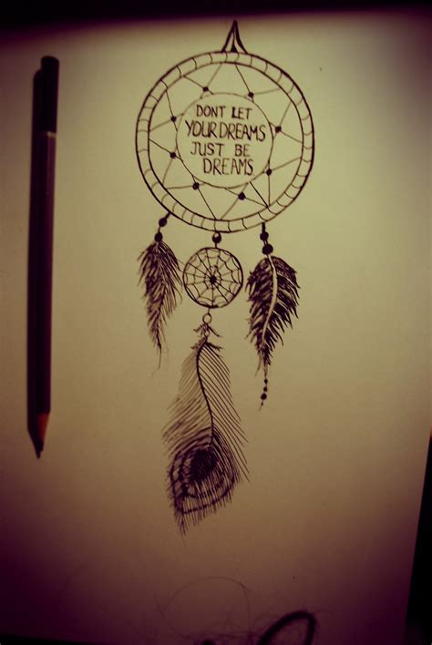 dreamcatcher tattoo design catcher tattoos with quotes quotesgram