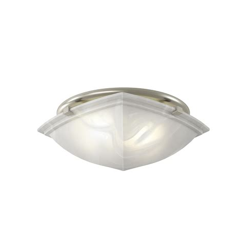 brushed nickel bathroom fan with light shop broan 2 5 sones 80 cfm brushed nickel bathroom fan