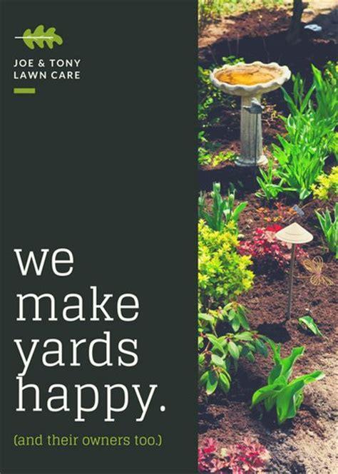 canva landscape layout landscaping flyer backgrounds bing images