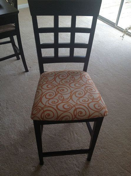 Average Cost To Reupholster A Dining Room Chair by Four New Dining Room Chairs For Less Than 10 00 How To