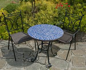 Mosaic Patio Table And Chairs Europa Garden Furniture Marble Mosaic Patio Furniture Sets And Tables