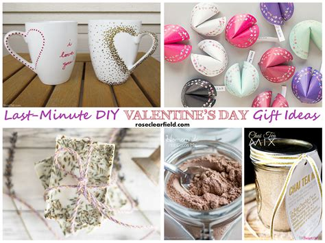 Handmade Valentines Day Gift Ideas - last minute diy s day gift ideas clearfield