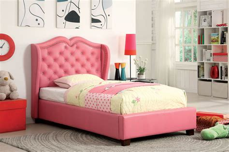 pink twin bed frame monroe twin pink upholstered bed frame